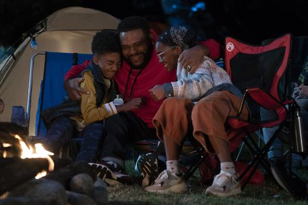 MILES BROWN, ANTHONY ANDERSON, MARSAI MARTIN