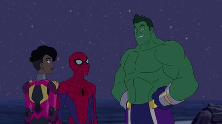 IRONHEART, SPIDER-MAN, THE TOTALLY AWESOME HULK