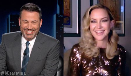JIMMY KIMMEL, KATE HUDSON