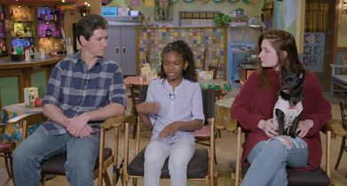 "12. Michael Fishman, ""D.J. Conner"", Jayden Rey, ""Mary Conner"", Emma Kenney, ""Harris Conner-Healy"", On preparing for the live show"