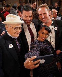 NORMAN LEAR, JIMMY KIMMEL, BRENT MILLER (EXECUTIVE PRODUCER), KERRY WASHINGTON (EXECUTIVE PRODCUER)