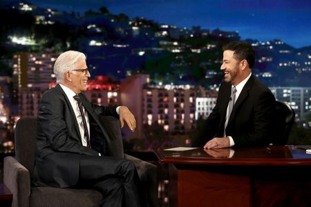 TED DANSON, JIMMY KIMMEL