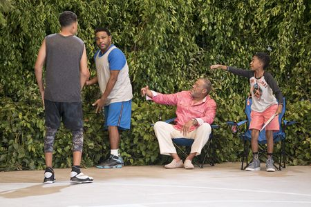 MARCUS SCRIBNER, ANTHONY ANDERSON, LAURENCE FISHBURNE, MILES BROWN
