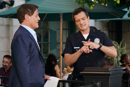 MARK CUBAN, NATHAN FILLION