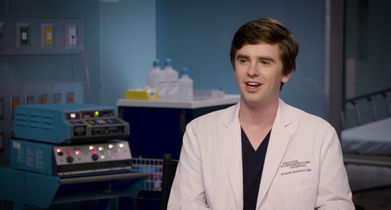 "01. Freddie Highmore, ""Dr. Shaun Murphy"", On where his character picks up in season 3"