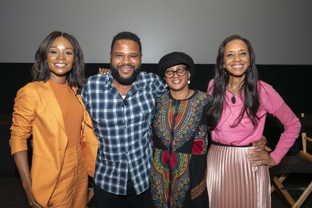 ZURI HALL, ANTHONY ANDERSON (EXECUTIVE PRODUCER), DEVON PATTERSON (COSTUME SUPERVISOR), MICHELLE COLE (COSTUME DESIGNER)
