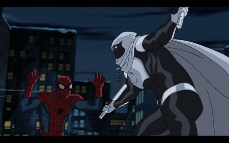 SPIDER-MAN, MOON KNIGHT