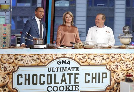 TJ HOLMES, AMY ROBACH, JACQUES TORRES