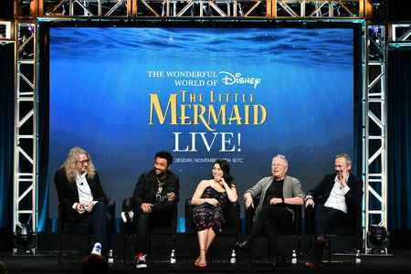 HAMISH HAMILTON (DIRECTOR/EXECUTIVE PRODUCER), SHAGGY, AULI'I CRAVALHO, ALAN MENKEN (COMPOSER), IAN STEWART (EXECUTIVE PRODUCER)