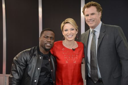 KEVIN HART, AMY ROBACH, WILL FERRELL