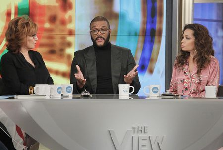WHOOPI GOLDBERG, JOY BEHAR, TYLER PERRY, SUNNY HOSTIN