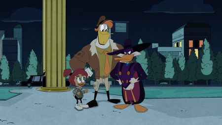 GOSALYN, LAUNCHPAD, DARKWING DUCK