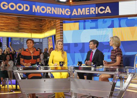 ROBIN ROBERTS, BLAKE LIVELY, GEORGE STEPHANOPOULOS, AMY ROBACH