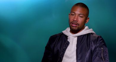 """03. Charles Michael Davis, """"Ted"""", On why the show is relevant"""