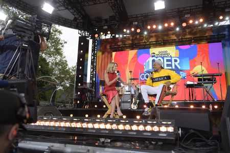 AMY ROBACH, CHANCE THE RAPPER