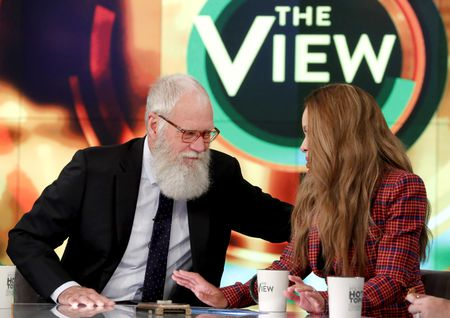 DAVID LETTERMAN, SUNNY HOSTIN