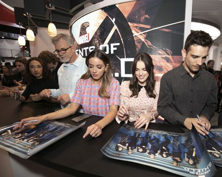 MAURISSA TANCHAROEN (EXECUTIVE PRODUCER), JEFF BELL (EXECUTIVE PRODUCER), CHLOE BENNET, ELIZABETH HENSTRIDGE, JEFF WARD