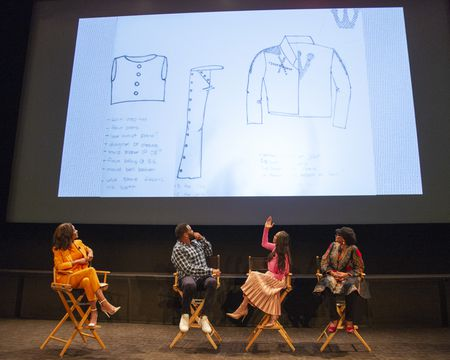 ZURI HALL, ANTHONY ANDERSON (EXECUTIVE PRODUCER), MICHELLE COLE (COSTUME DESIGNER), DEVON PATTERSON (COSTUME SUPERVISOR)