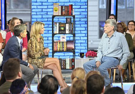 GEORGE STEPHANOPOULOS, AMY ROBACH, STEPHEN KING