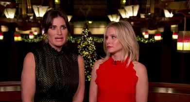 """20. Idina Menzel & Kristen Bell, Performers, On their new Christmas song, """"When We're Together"""""""