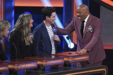 MORGAN LEITER, BEN FELDMAN, STEVE HARVEY