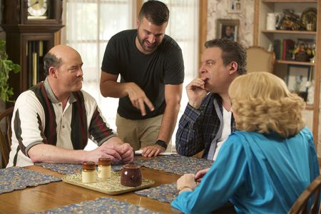 DAVID KOECHNER, DAVID KATZENBERG (DIRECTOR), JEFF GARLIN, WENDI MCLENDON-COVEY