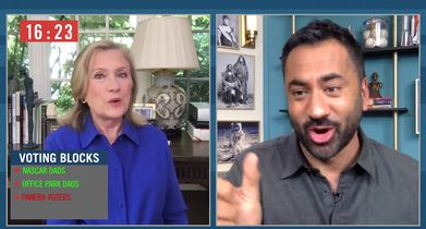 102 Clip - Kal and Hillary Clinton Guess The Voting Bloc