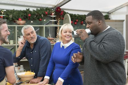 "CHRIS, PAUL HOLLYWOOD, SHERRY YARD, ANTHONY ""SPICE"" ADAMS"