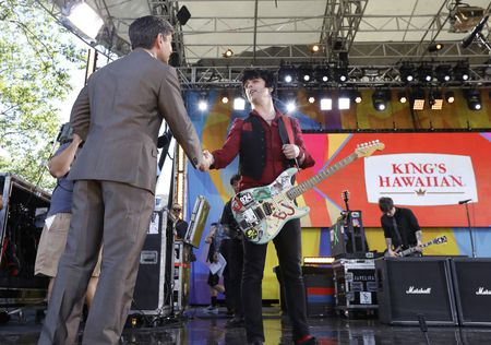 GEORGE STEPHANOPOULOS, GREEN DAY