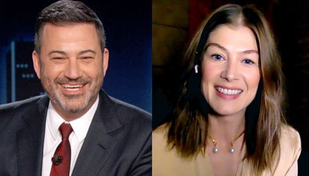 JIMMY KIMMEL, ROSAMUND PIKE
