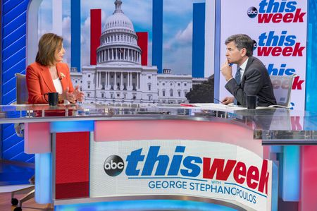 NANCY PELOSI, GEORGE STEPHANOPOULOS