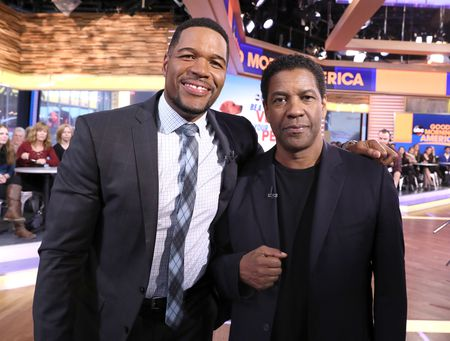 MICHAEL STRAHAN, DENZEL WASHINGTON