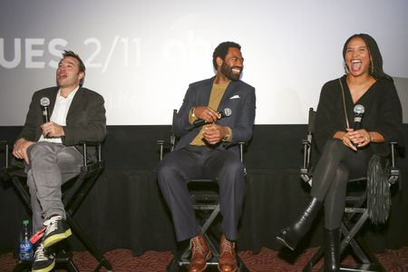 HANK STEINBERG (EXECUTIVE PRODUCER), NICHOLAS PINNOCK, JOY BRYANT