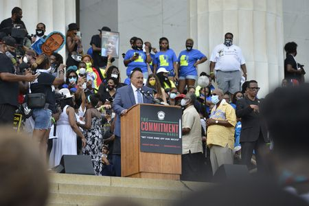 MARTIN LUTHER KING III, MARCH ON WASHINGTON 2020