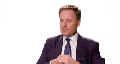 """03.Chris Harrison, Host, On Peter Weber's history with """"The Bachelor"""""""