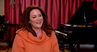 "1.	Katy Mixon, ""Katie Otto"", On the musical episode"