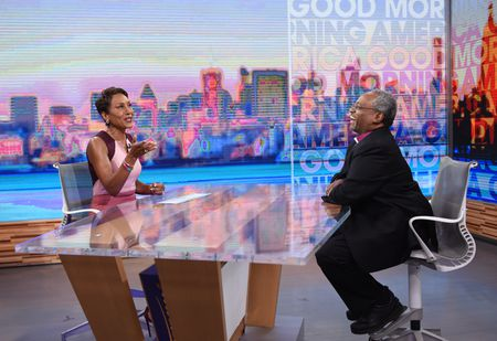 ROBIN ROBERTS, BISHOP MICHAEL CURRY