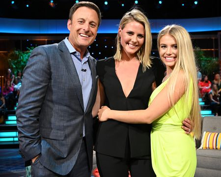 CHRIS HARRISON, KRISTIAN HAGGERTY, DEMI BURNETT