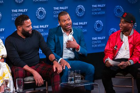 ANTHONY ANDERSON, EXECUTIVE PRODUCER COURTNEY LILLY, CHARLAMAGNE THA GOD