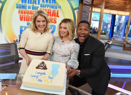 SARA HAINES, ASHLEY TISDALE, MICHAEL STRAHAN