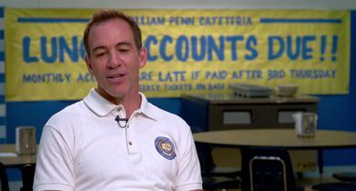 """06. Bryan Callen, """"Coach Mellor"""", On the premise of the show"""