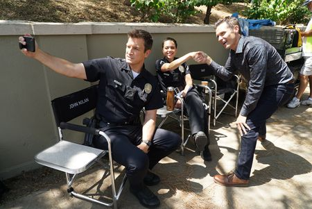 NATHAN FILLION, ALYSSA DIAZ, SEAMUS DEVER
