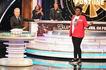 PAT SAJAK, LESLIE JONES