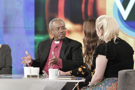 BISHOP MICHAEL CURRY, SUNNY HOSTIN, MEGHAN MCCAIN