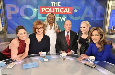 ABBY HUNTSMAN, JOY BEHAR, WHOOPI GOLDBERG, MICHAEL BLOOMBERG, MEGHAN MCCAIN, SUNNY HOSTIN