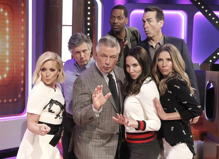 JANE KRAKOWSKI, CHRIS PARNELL, ALEC BALDWIN, TONY ROCK, WHITNEY CUMMINGS, ROB RIGGLE, SARAH CHALKE