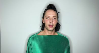 43. Johnny Weir, Celebrity, On his go-to dance move