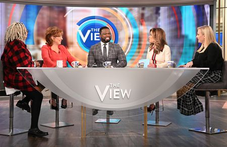 "WHOOPI GOLDBERG, JOY BEHAR, CURTIS ""50 CENT"" JACKSON, SUNNY HOSTIN, MEGHAN MCCAIN"