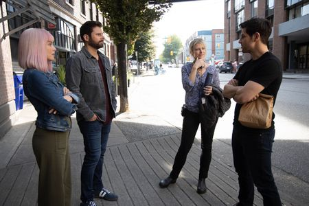 ALLISON MILLER, JAMES RODAY, TESSA BLAKE (DIRECTOR), DAVID GIUNTOLI