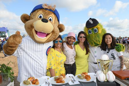 CHICAGO MASCOT, BEVERLY KIM AND GUESTS